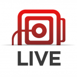 live video streaming, events, social media